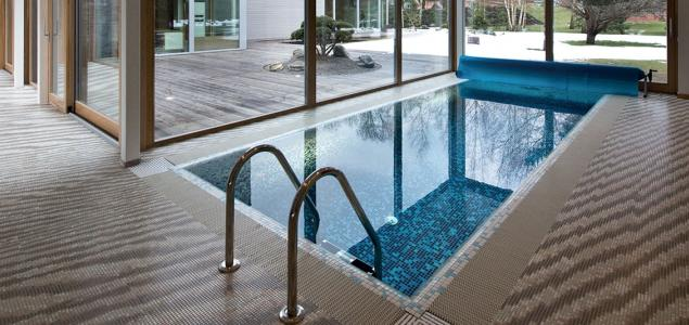 Private house, swimming pool